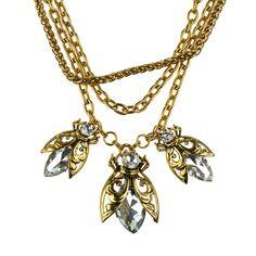 """Biżuteria. Naszyjnik z kolekcji """"Ujarzmienie Afryki""""."""