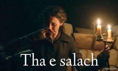 Tha e salach - It is dirty (ha ay SAHlahk) Scottish Names, Scottish English, Scottish Gaelic, James Fraser Outlander, Gaelic Words, Celtic Goddess, Outlander Series, Scandinavian, Irish