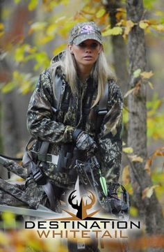 Brittney Leigh Glaze, a professional model and diehard hunter from Georgia, is the new co-host of the acclaimed outdoors television show Destination Whitetail.