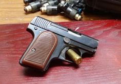 1908-1920ish Walman vest pistol in 25acp Find our speedloader now!  http://www.amazon.com/shops/raeind
