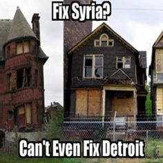 They can't even fix Detroit... INFOWARS.COM BECAUSE THERE'S A WAR ON FOR YOUR MIND