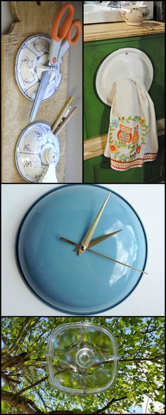 Why trash old pot lids when you can upcycle them in so many different ways? Holders, bird baths and feeders, clocks and wind chimes are just some of the things they can be used for.  Head on over to our main site to see the possibilities...   http://theownerbuildernetwork.co/qlvc  What have you wonderfully creative people used them for?
