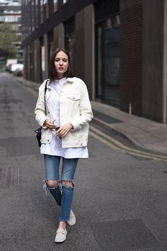27 Best White Denim Jacket Images White Denim Jackets White Jean