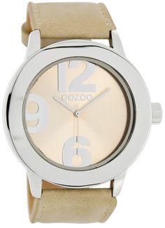 OOZOO Horloge - € 29,95  Ø 45 mm.  1JAAR GARANTIE.