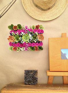 garden rectangle by miasole on Etsy