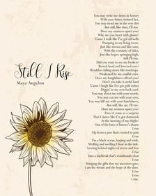 Still I Rise Poem, Still I Rise Tattoo, Empathy Quotes, Self Respect Quotes, Poem Quotes, Words Quotes, Sayings, Qoutes, Wisdom Quotes