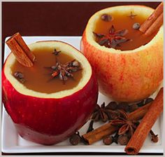 Great signature drink- hot (spiked!) apple cider? Served in hollowed out apples-- adorable. (For my fall, New England wedding)