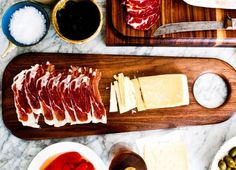 The Most important Spanish lesson: learn to say: JamonWalnut Charcuterie Board by Geoffrey Lilge.Love-Spain