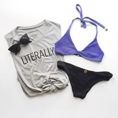 Perfect pool/beach outfit with our fav @risecityswim