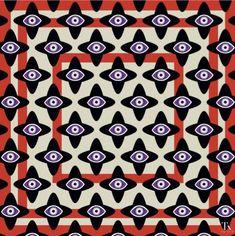 All Eyes On Me #tukutukum #silkscarf #evileye