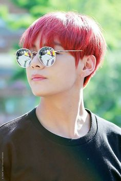 Red haired Taehyung   Youth on Fire!