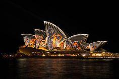 Light Show Opera House Sydney City HD Wallpaper Gold Coast, Ha Vagas, Sidney Australia, Sydney Photography, Sydney City, Hagia Sophia, City Wallpaper, Angkor Wat, Giza