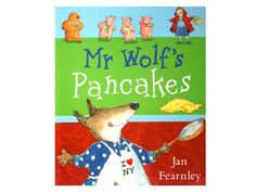 Mr Wolf's Pancakes, book review and related kids crafts and activities