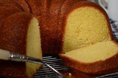 Cream Cheese Pound Cake - Joyofbaking.com *Video Recipe*