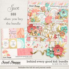 Behind Every Good Kid: Bundle by Jady Day Studio - save 44% by purchasing the bundle!!