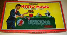Mysto Magic Set by Gilbert.  Nice early Magic set.