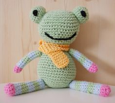 Häkeln Stofftier Frosch Anleitung