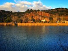 Orillas de oro | Bank gold  Laguna San Pedro Parque Natural de las Lagunas de Ruidera  #lagunasderuidera #mobilephotography