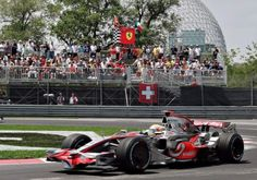 Crescent Street during the Grand Prix F1 du Canada in Montréal, held annually in June
