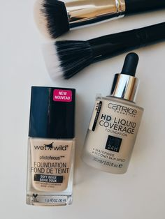 Wet N Wild, Base Bb Cream, Base Hd, Foundation, Lipstick, Logo, Makeup, Girls, Beauty