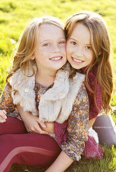 Stella & Fiona Kids Photography - photographer photo shoot inspiration Capturing Joy with KristenDuke.com