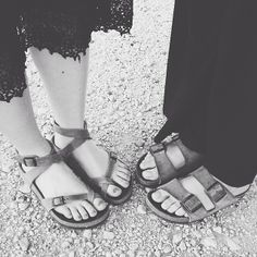 hey @Lisa Berry look! birkenstock pinned our feet!!!