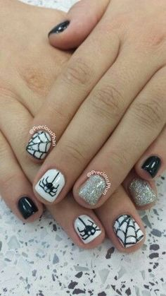 36 Cute and Dainty Nail Art Designs with a White Base
