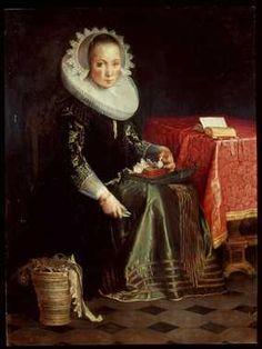 Portret van Eva Wtewael (1607-1635) | Centraal Museum Utrecht