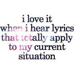 Sadly I also sing them out loud!