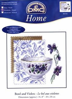 Home Bowl and Violets