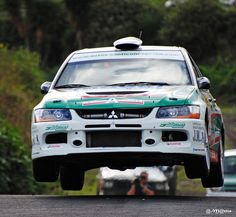 A volar !!!!  Victorino Concepción  Mitsubishi Lancer Evo IX  Rallye Isla Bonita 2010