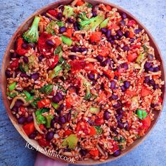 @healthiecook | VEGAN Bean Chili Veggie Rice (NO OIL, high carb low fat Vegan friendly! | http://thehealthiecooklife.blogspot.com.au
