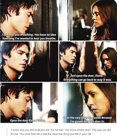 "#TVD 6x06 ""The More You Ignore Me, the Closer I Get"" - Damon and Elena"