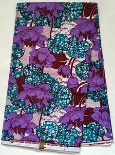 House of Mami Wata African Print Fabrics https://www.etsy.com/listing/539533820/african-print-fabric-ankara-purple