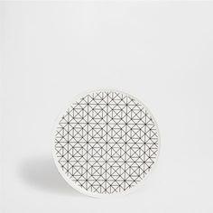 SERVICE À PETIT-DÉJEUNER MOTIF GÉOMÉTRIQUE - Vaisselle - Table | Zara Home France