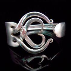 Riciclato argenteria gioielli forcella Argento di MarchelloArt