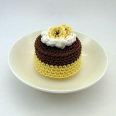 Chocolate Banana Cake by Bibuki on Etsy, $22.00