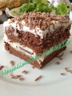 Muhallebili Islak Kek Pastası | Resimli Yemek Tarifleri Hayalimdeki Yemekler