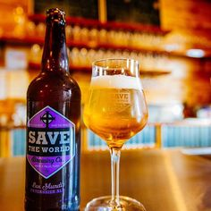 Save the World Brewing is America's first 100% philanthropic brewery.
