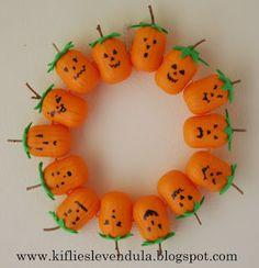Kifli és levendula: őszi dekoráció