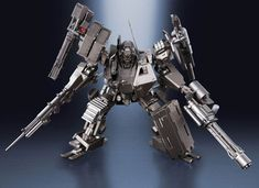 MECHA GUY: Super Robot Chogokin Armored Core V UCR-10/A - New Images