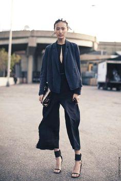 Me gusta el patrn, me parece bonito y elegante para algun puesto importante! | More outfits like this on the Stylekick app! Download at http://app.stylekick.com
