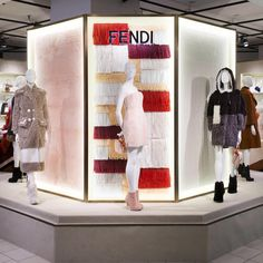"ISETAN,Shinjuku,Tokyo,Japan, ""A preview of the new Fendi Shearling Mania Pop-Up inaugurated at Shinjuku Isetan"", pinned by Ton van der Veer"