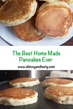 You searched for the best homemade pancakes - Skinny & Tasty Recipes Breakfast And Brunch, Breakfast Pancakes, Breakfast Items, Breakfast Dishes, Breakfast Recipes, Mexican Breakfast, Breakfast Sandwiches, Best Homemade Pancakes, Tasty Pancakes