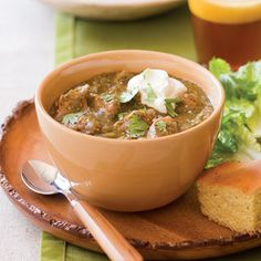 New Mexico Pork Chili Verde- I've had a craving for this since I had it in Colorado...wonder how this recipe compares...