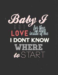 Baby I- Ariana Grande