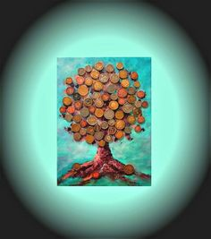 Sun Painting, Galaxy Painting, Painting Edges, Abstract Canvas Art, Acrylic Painting Canvas, Feng Shui, Money Trees, Unique Gifts For Men, Cat Art