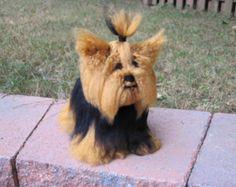 Yorkshire Terrier PDF Crochet Pattern - Digital Download - ENGLISH ONLY