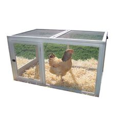 To go with my coop! just a bit of added room!