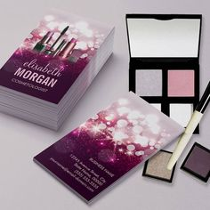 Makeup Artist Business Card | Makeup artist business cards and ...